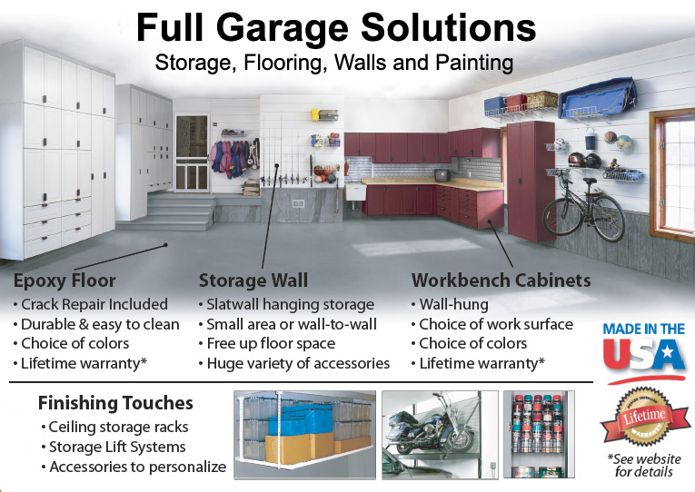 full garage remodel and storage