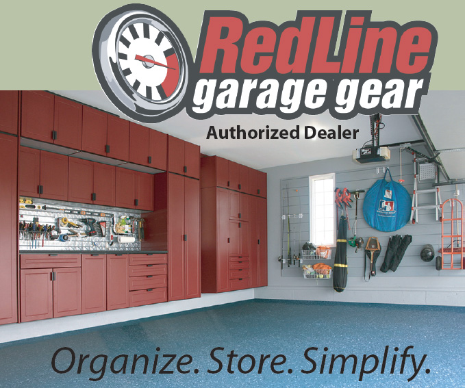 garage storage and floors